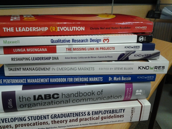GIBS IC BOOKS ON DISPLAY